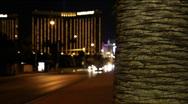 Las Vegas Traffic 1601 Stock Footage