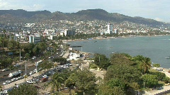 Acapulco city view Stock Footage