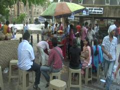 Mumbai - Food Stalls Stock Footage