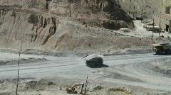 Mining trucks Utah Stock Footage