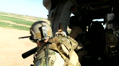 Air Force Pararescueman (HD) c Stock Footage