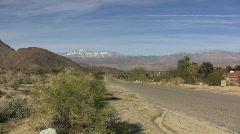 Anza Borrego road Stock Footage