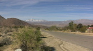 Anza Borrego road Stock Footage