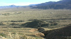 Anza Borrego valley view Stock Footage