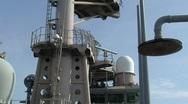 Ships Radars (HD) c Stock Footage