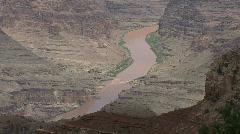 Arizona Grand Canyon Colorado river Stock Footage