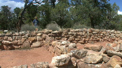 Arizona Indian ruins Stock Footage