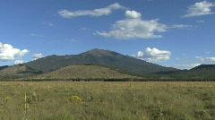 Arizona landscape near Flagstaff Stock Footage