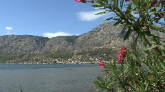 Astakes on Ionian Sea Stock Footage