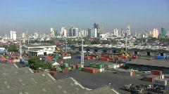 Bangkok Port Stock Footage
