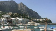 Stock Video Footage of View of the Isle of Capri