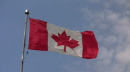 Stock Video Footage of Canada Flag1