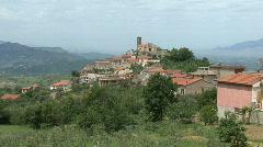 Cocuruzzo Italian hilltown Stock Footage