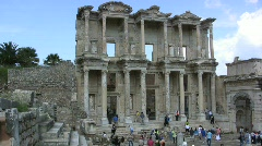 Ephasus Greco-Roman ruins in Turkey Stock Footage