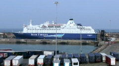 Rosslare Europort Stock Footage