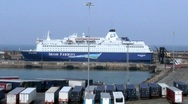 Stock Video Footage of  Rosslare Europort