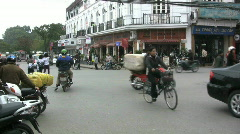 Hanoi bicycles  Stock Footage