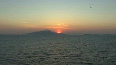 Ischia sunset Stock Footage