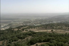View from Mt. Carmel Stock Footage