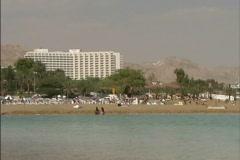 Israel Resort by Dead Sea Stock Footage
