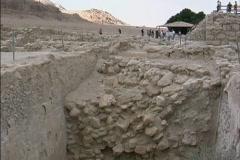 Israel Excavations at Qumran Stock Footage