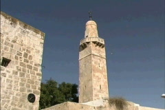 Jerusalem Tower of David Stock Footage