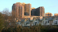 New Jersey buildings Stock Footage