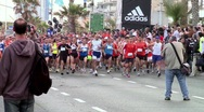 Stock Video Footage of Running marathon 13