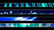 Abstract Blue Green Lower Third Loop 4.92 Stock Footage