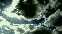 War clouds time lapse Stock Footage