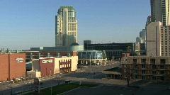 Niagara Falls city Canada Stock Footage