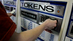 Token Machine Stock Footage