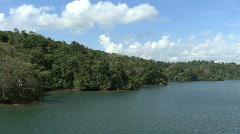 Panama Canal Lake Gatun Stock Footage