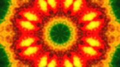 Tie-Dye Keleidoscope R27 Stock Footage