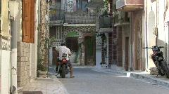 Prigi village Chios Stock Footage