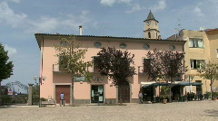 San Clemente a town in Italy Stock Footage