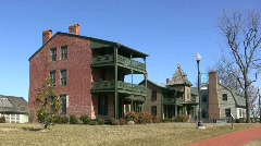 Saint Michaels Historic District Stock Footage