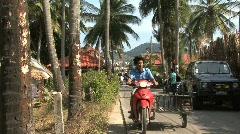 Kho Samui island people Stock Footage