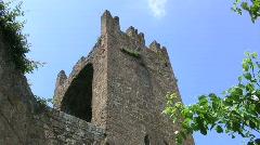 Tuscania walls  Stock Footage