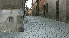 Tuscania street Stock Footage