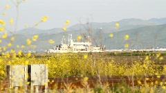 Naval Ship Yard Stock Footage