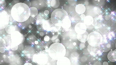 Black-and-white glamour background with multi-coloured particles, vj HD Stock Footage
