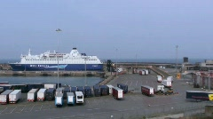 Rosslare Europort 2 Stock Footage