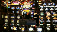 Slot machines time lapse P HD 6976 Stock Footage