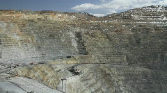 scenic view of Kennecott mine - stock footage