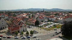 Bautzen city in Germany. Stock Footage