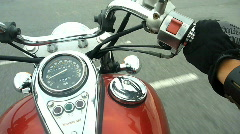 Motorcycle Riding in New York City - stock footage