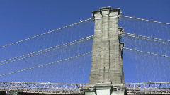 Brooklyn Bridge Stock Footage