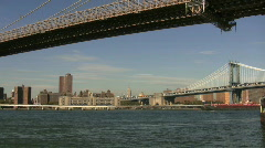 Brooklyn Bridge - stock footage