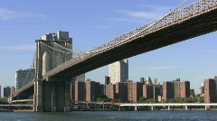 Brooklyn Bridge Stock Footage